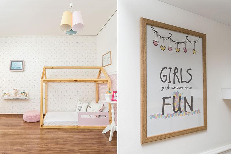 Quarto Unicórnio Montessoriano - decoração