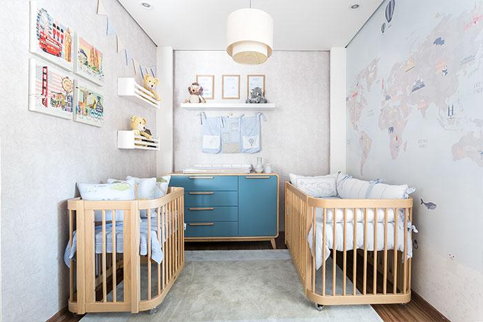 quarto de bebe tema safari