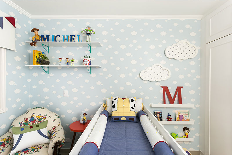 Quarto do Michel Inspirado no Filme Toy Story