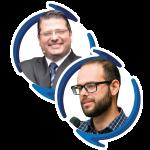 Carlos Eduardo Barra Couri e Diogo Sponchiato