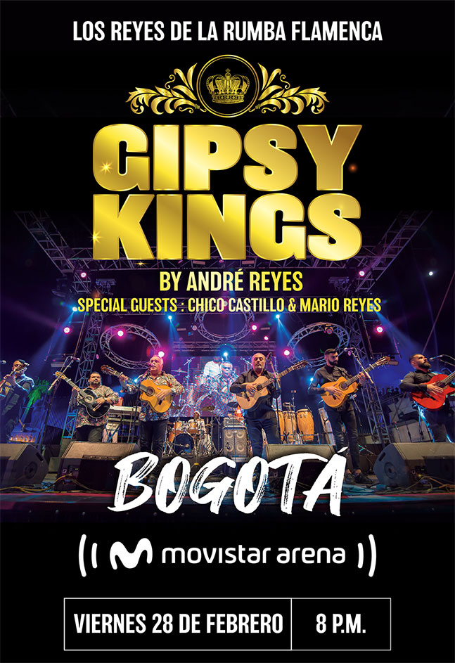 GIPSY KINGS BY ANDRÉ REYES