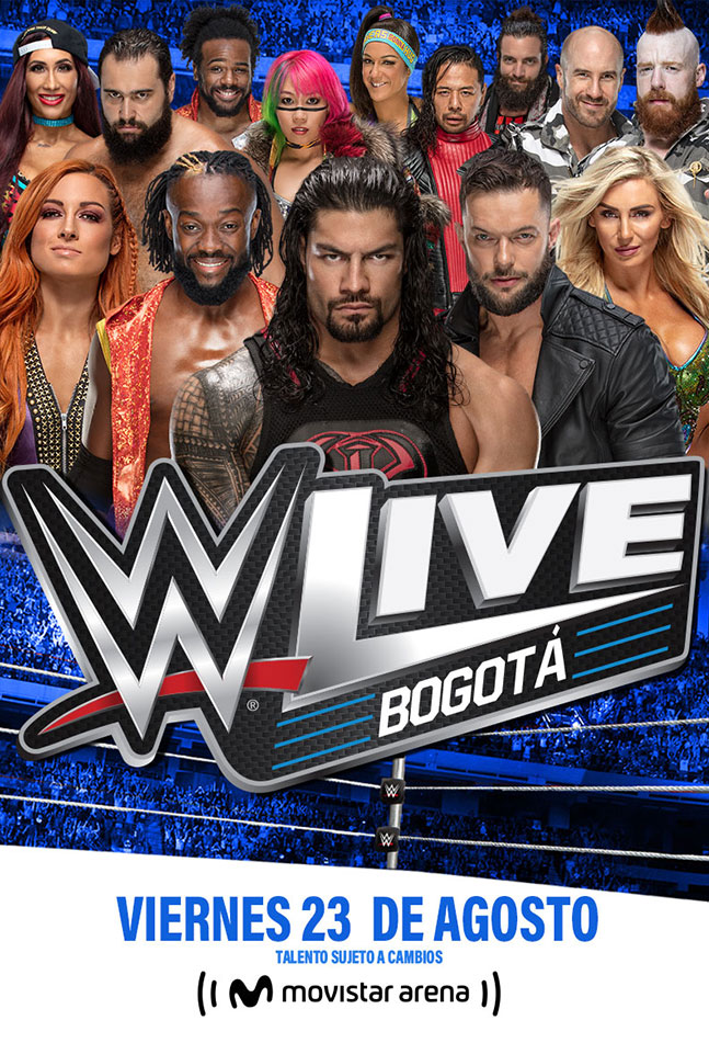 WWE Live Bogotá