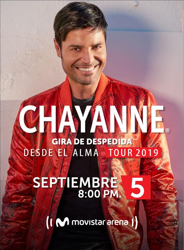 chayanne en Bogota
