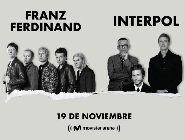 INTERPOL & FRANZ FERDINAND