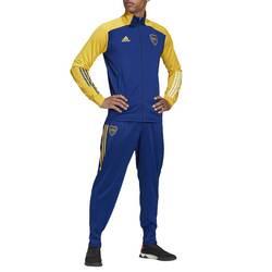Conjunto Boca Tk Suit Adidas
