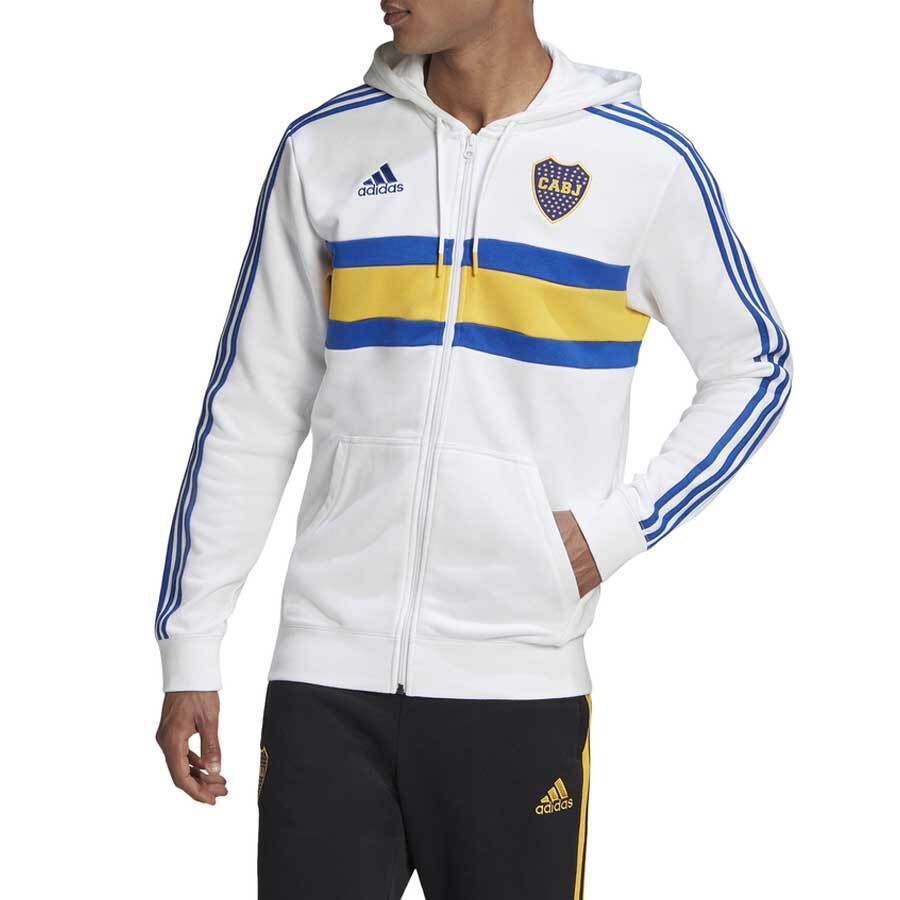 Buzo Boca 3s Fz Hd Adidas