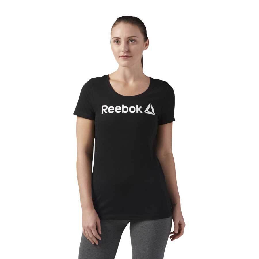 Remera Linear Read Scoop Neck Reebok