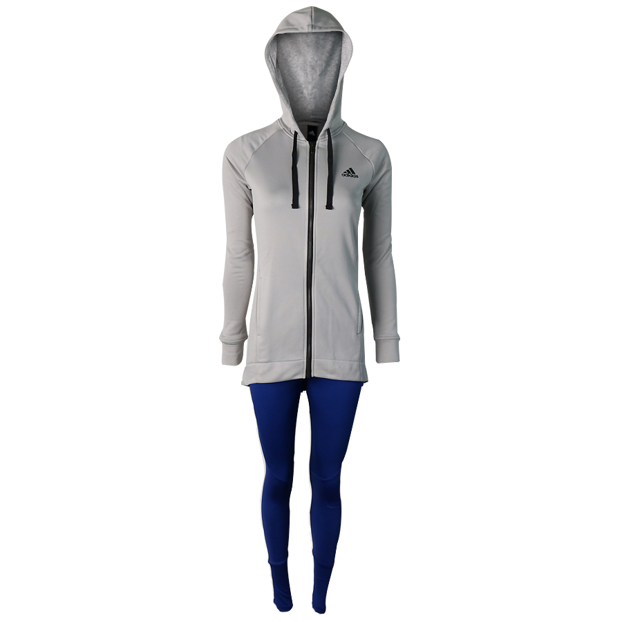 Conjunto Hoody And Tight Adidas