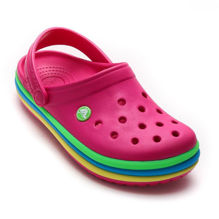Crocband Rainbow Band Clog Crocs