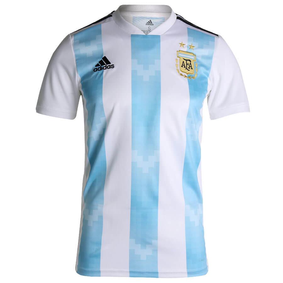 Camiseta Oficial Selección Argentina Adidas