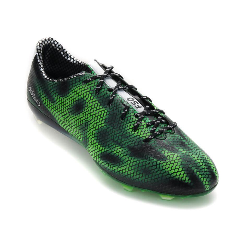adidas adizero f50 verdes y blancas