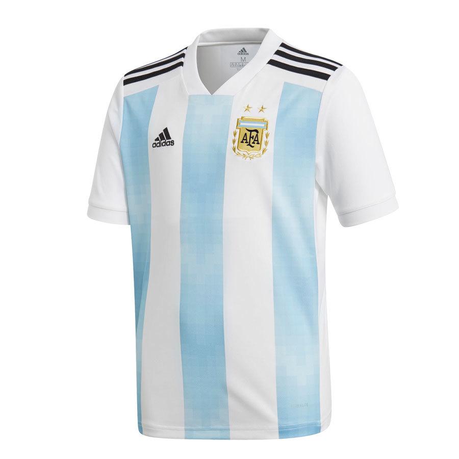 Camiseta Oficial Selección De Argentina Local Niño 2018 Adidas