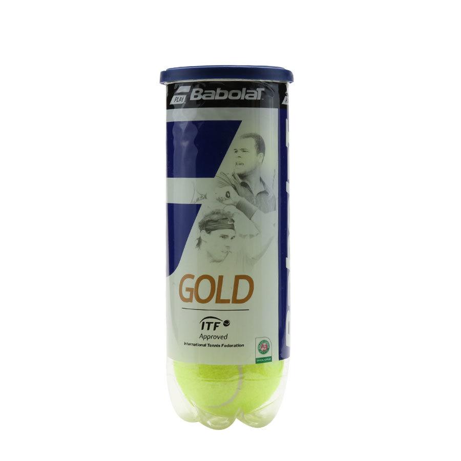 Pelotas De Tenis Gold Pet X 3 Babolat
