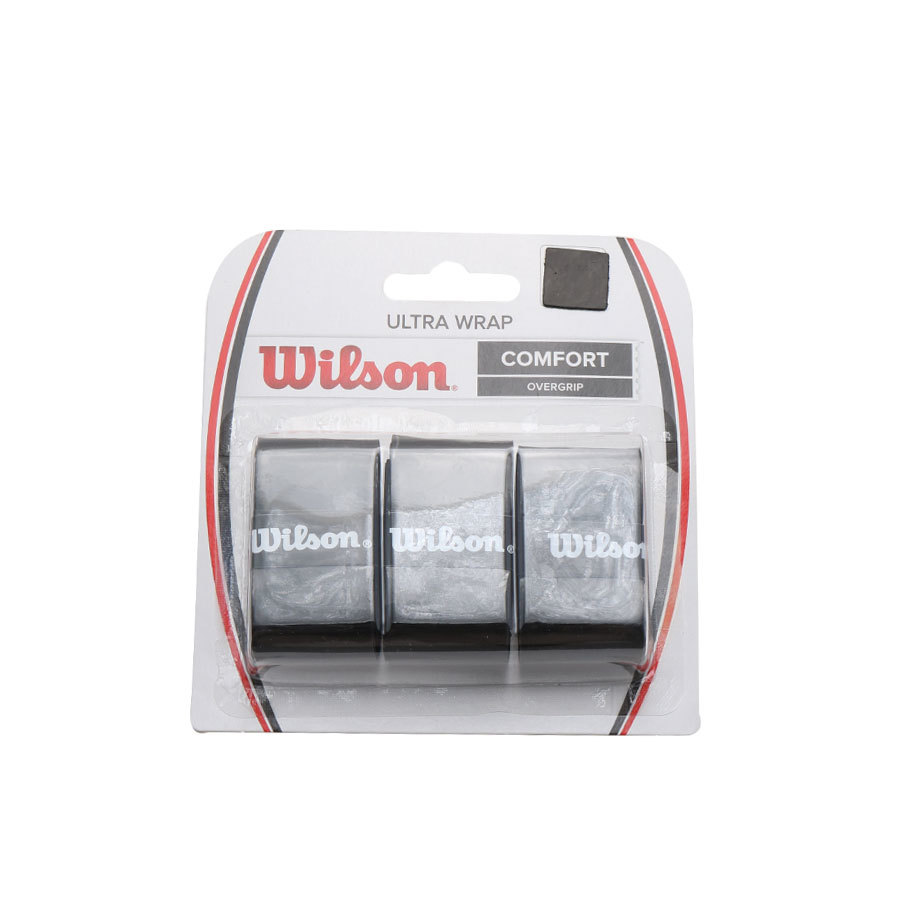 Ultra Grip Wrap Bk 6pk Wilson