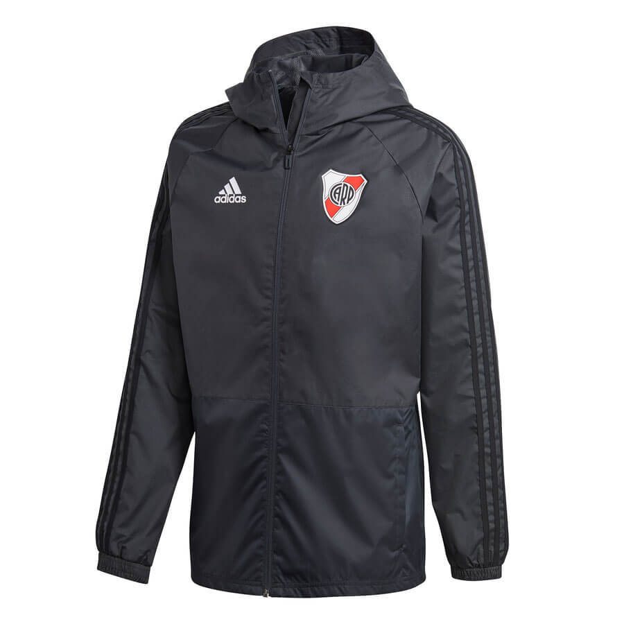 Campera Impermeable Club Atlético River Plate Adidas