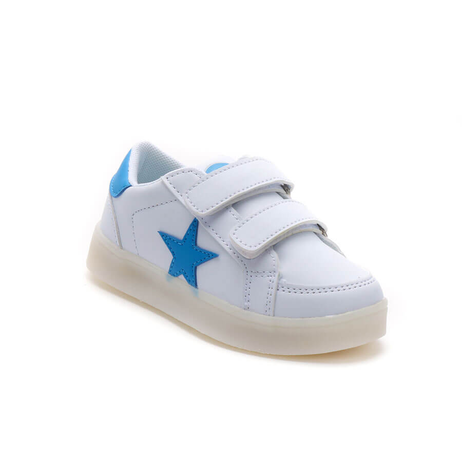 Zapatillas Con Luces Mini Kids Footy