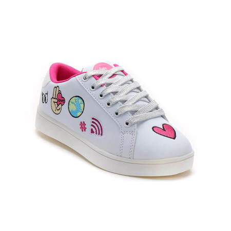 ZAPATILLAS CON LUCES PATCH WORLD