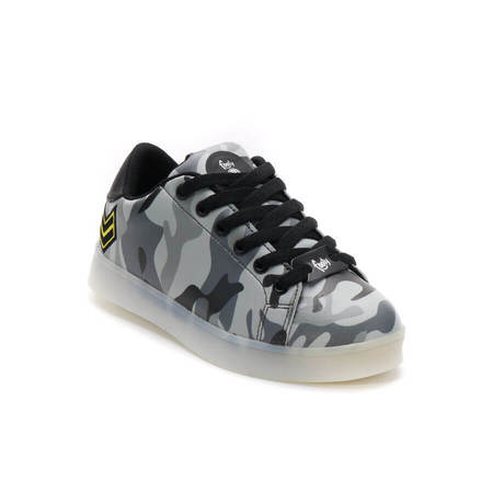 ZAPATILLAS CON LUCES ARMY CAMO