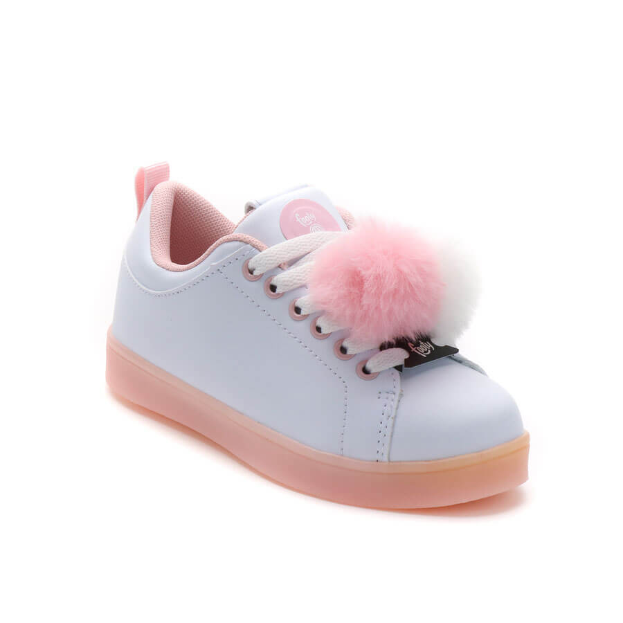 Zapatillas Con Luces Pompon Footy