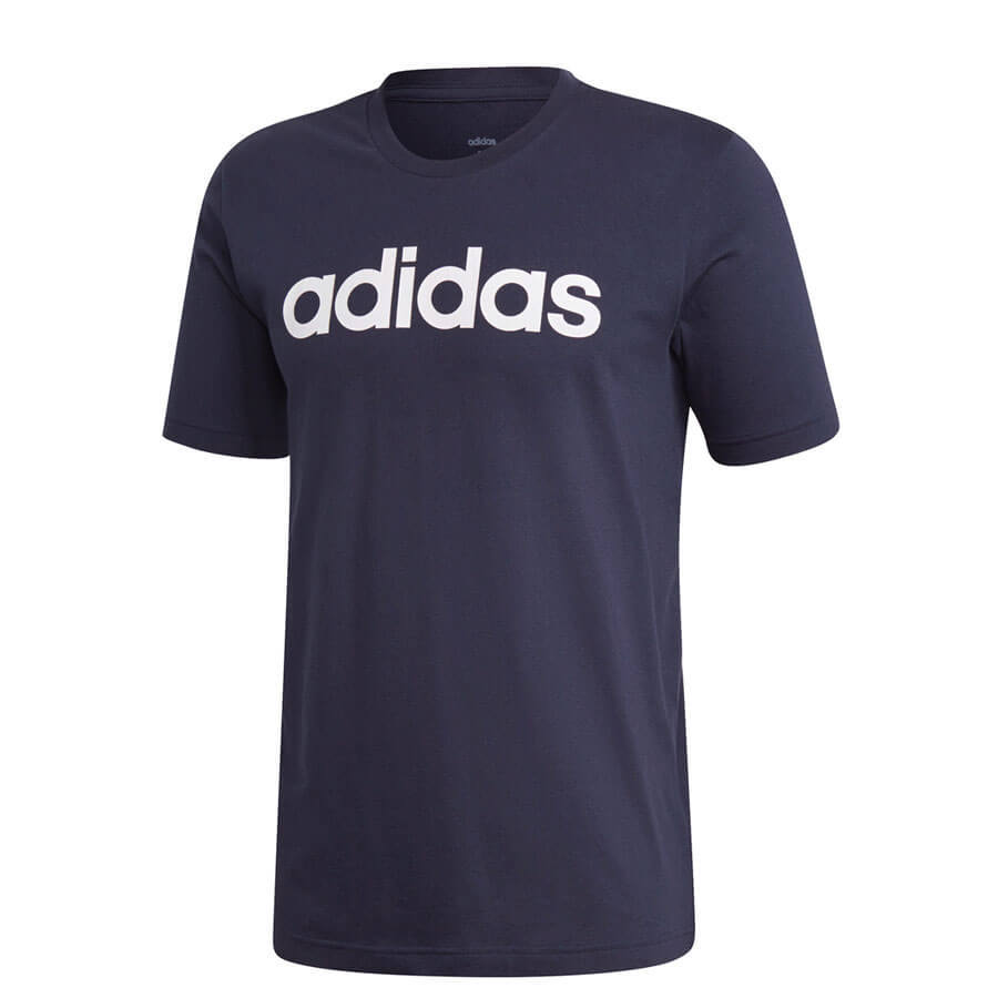 Remera Essentials Linear Logo Adidas