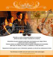 Músicos y cantantes en evento de empresa, Providencia