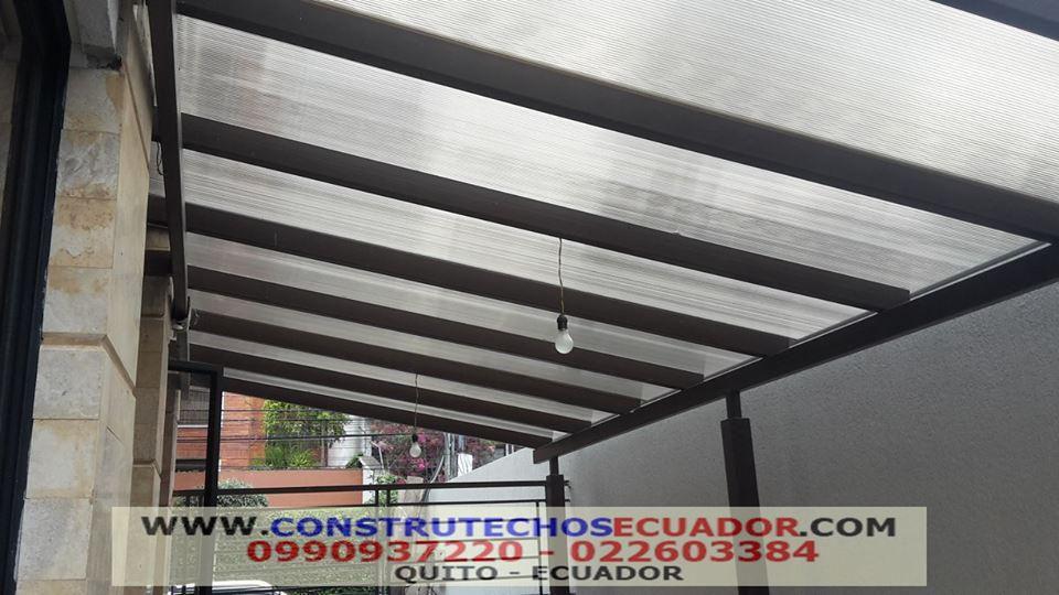 Techos corredizos para patios awesome techos fijos with - Cubiertas para techos ...