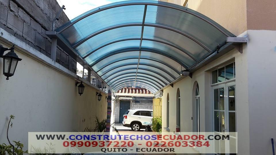 Cubiertas para piscinas on policarbonato techos corredizos - Techos de aluminio para patios ...