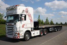 Faymonville trailer windcarrier 4 ejes 3x extendable 44,00 m