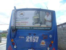 Publicidad en buses móvil