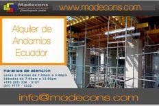Venta y Alquiler de Andamios en Quito - Ecuador.