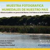 Muestra De Humedales En Buenos Aires