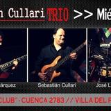 El Miércoles 6/4 Sebastian Cullari Trio Se Presentará En Eter Club