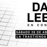 David Lebon En Vivo