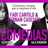 Fabi Cantilo & Hernán Casciari, Comedia En Vivo