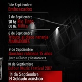 Marquee Live Rock Sessions Agenda