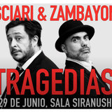 "Casciari & Zambayonn Presentan ""Tragedias"""