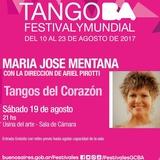 """María José Mentana Presenta """"Tangos Del Corazón"""""""