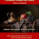 SEMINARIO OLEO y ESPATULA (pintar Reflejos Del Cobre)
