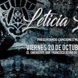 """Leticia Lee """"Debut Solista"""" En El Emergente Almagro"""