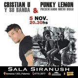 Cristian u y Su Banda+ Punky Lemon