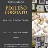 PEQUEÑO FORMATO, Convocatoria Muestra De Arte