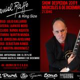 Daniel Raffo y Lo Mejor Del Blues Despide El 2017 En Caballito