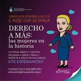 Taller Derecho A Más: Las Mujeres En La Historia