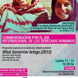 Proyección Especial+cóctel Por El Día Internacional De Los Derechos Humanos