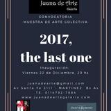 2017, The Last One. CONVOCATORIA