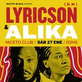 Niceto Black Pres. Lyrickson y Alika