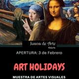 ART HOLIDAYS, Convocatoria Muestra De Artes Visuales