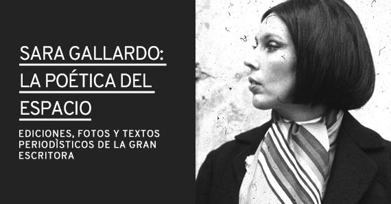 Sara Gallardo. La Poética Del Espacio