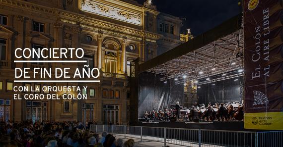 Concierto De Fin De Año De La Orquesta y El Coro Del Teatro Colón