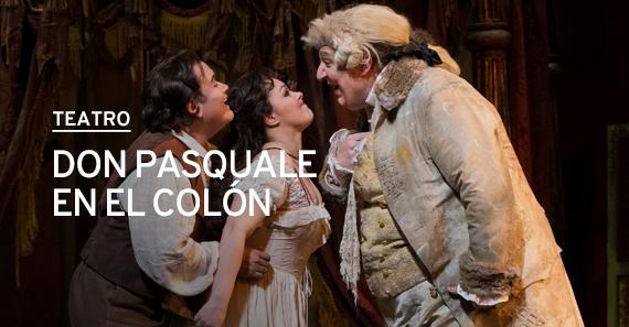 Don Pasquale En El Colón